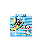 Nickelodeon Paw Patrol Towelling Poncho - Blue