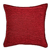 McAlister Soft Chenille Cushion - Red