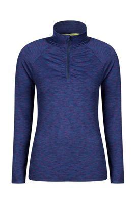 Mountain Warehouse Isocool Dynamic Womens Half Zip Top ( Size: 16 )