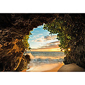 Hide Out Relaxing Beach Scenic Wallpaper Mural 368 x 254cm