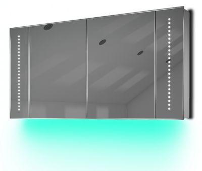 Ambient Audio Demist Bathroom Cabinet With Bluetooth, Shaver & Sensor K126Taud