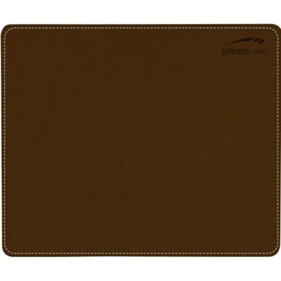 SPEEDLINK Notary Soft Touch Mousepad, Brown SL-6243-LBR