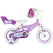 "Bumper Ice Queen 12"" Pavement Bike Purple"