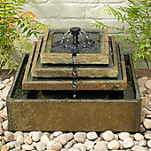 Slate Tiered Fountain