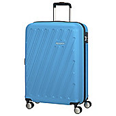 American Tourister HyperCube 4 Wheel Blue Small Suitcase