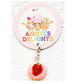 Children's Strawberry Shortcake Clip on Charm