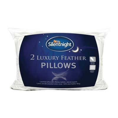 Silentnight Luxury Feather Pillow 2 pack