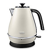De'Longhi Distinta 1.7L Jug Kettle - White