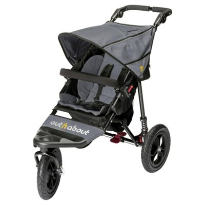 Out n About Nipper Single V4- Steel Grey