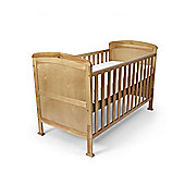 Penelope - Cot Bed/Toddler Bed W/ Sprung Mattress & Teething Rails - Pine