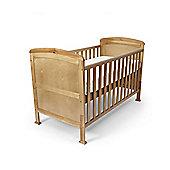 Penelope - Cot Bed/Toddler Bed W/ Sprung Mattress & Teething Rails - Pine