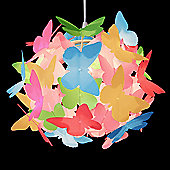 Butterfly Ball Ceiling Light Pendant Shade, Multi Coloured