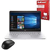 "Certified Refurbished HP 14-bk063sa 14"" Laptop Intel Pentium 4415U 4GB 1TB Windows 10 with Internet Secuirty & Mouse - 1VJ36EA#ABU"