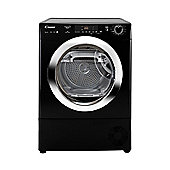 Candy Heat Pump Tumble Dryer GVS H9A2DCEB - Black with Chrome Door