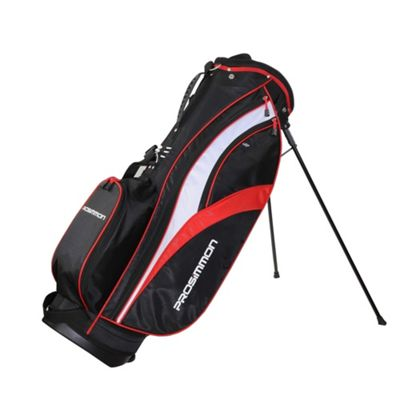 Prosimmon Golf Tour Stand Bag Black/Red