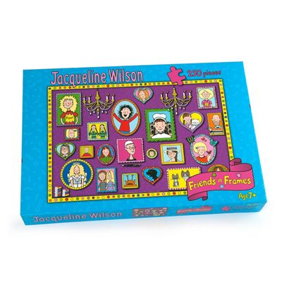 Jaqueline Wilson Friends In Frames 250pc Puzzle