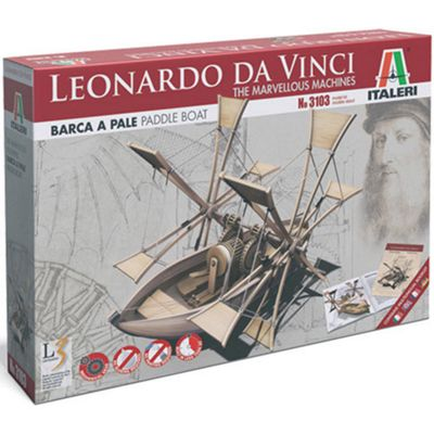 Italeri Paddle Boat - Marvellous Machines 3103 Leonardo Da Vinci Model Kit