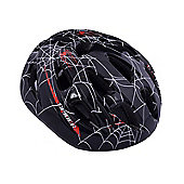 Ammaco Spider Web Black Kids Bike Helmet 55-59cm