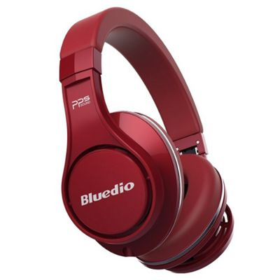 Bluedio U UFO Wireless Bluetooth Headphones - Red