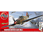 AIRFIX A50167 Hurricane Mk1 Gift Set 1:24 Model Kit