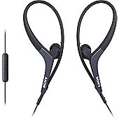Sony MDR-AS400iP Sports In-Ear Headphones - Black