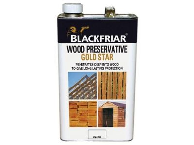 Blackfriar EXT Wood Preserver Gold Star Red Cedar 5 Litre