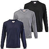 Woodworm Golf Long Sleeve Solid Sweater - 3 Pack - Multi