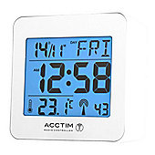 Acctim 71662 Kale Alarm Clock Radio - White