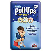 Huggies Pull Ups Potty Training Pants - Size 6 - Boy - Night Time - 10 pack