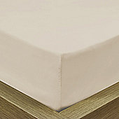 Julian Charles Luxury 180 Thread Count Fitted Sheet - Champagne