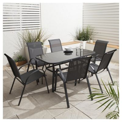 Seville Garden Dining Set 7 Piece