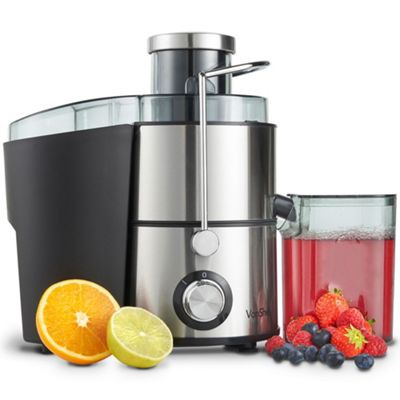Tesco Direct Slow Juicer : Buy vonShef Electric Juicer 400W - Whole Fruit & vegetable Centrifugal Juice Extractor from our ...