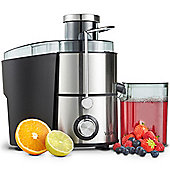 VonShef Electric Juicer 400W - Whole Fruit & Vegetable Centrifugal Juice Extractor
