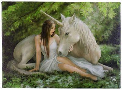 Pure Heart, Unicorn Canvas Art
