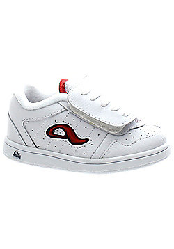 Adio Kenny Anderson Toddler White/Adio Red Shoe - White