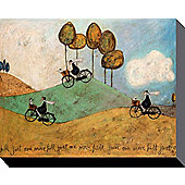 Sam Toft Just One More Hill Canvas Print