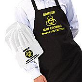 IGGI Danger Man Cooking Apron and Hat