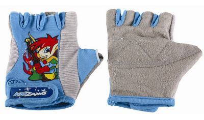 Kidzamo Protective Cycle Glove / Mitt with Coby Blue Design