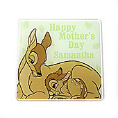Disney Bambi Personalised Mother's Day Coaster