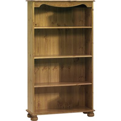 Techstyle Wood Bookcase with 4 Shelves