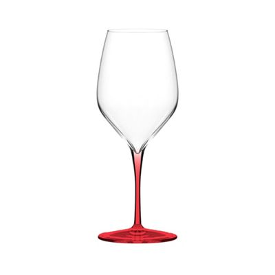 Italesse Vertical Medium Wine Glass Red Set of 4 in a box
