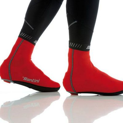SP577TFPH2O - Santini H20 Overshoes Red Xlarge/2Xlarge