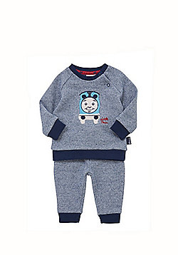 b84af606ee Thomas and Friends Lightweight Knit Sweatshirt and Joggers Set - Navy