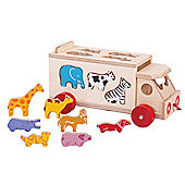 Bigjigs Toys Animal Shape Lorry