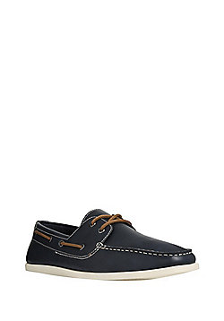 F&F Boat Shoes - Navy