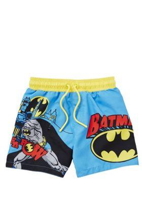 DC Comics Batman Pow Board Shorts Blue Multi 12-18 months