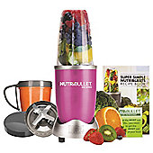 NUTRIBULLET 8 PIECE        SET IN PINK