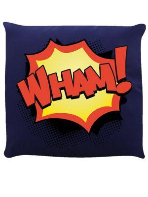 Wham! Cushion 40x40cm Navy Blue