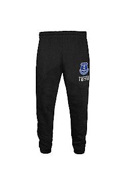 Everton FC Boys Slim Fit Jog Pants - Black