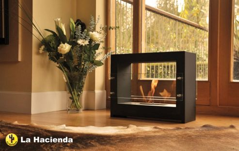 La Hacienda Floor Standing Bio-Ethanol Fireplace
